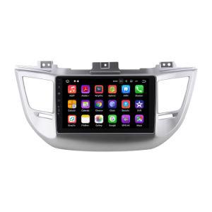 2017년 Octa 코어 4GB 렘 32GB ROM 인조 인간 8.0 차 DVD 플레이어, Hyundai Tucson/를 위한 인조 인간 자동차 라디오