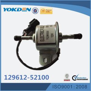 129612-52100 peças do motor diesel da bomba de combustível para Escavadoras