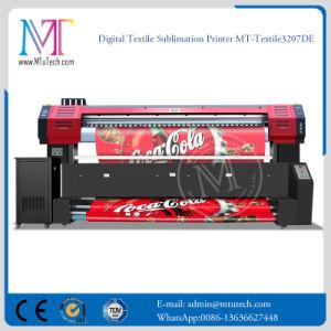 Stampante della tessile con risoluzione di larghezza di stampa delle testine di stampa 1.8m/3.2m di Epson Dx7 1440dpi*1440dpi per la macchina della stampante di getto di inchiostro di stampa del tessuto direttamente