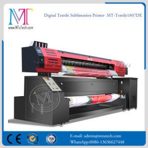 La stampante di getto di inchiostro di ampio formato che fa pubblicità alla stampante della tessile di Digitahi