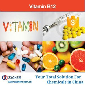 Cianocobalamina Química Farmacéutica de la vitamina B12