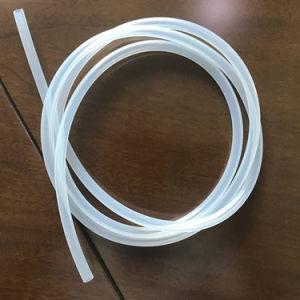 La transparence de l'industrie alimentaire de grade médical flexible de tube en caoutchouc de silicone