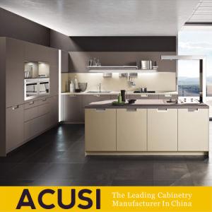 Nuovi armadi da cucina della lacca di stile dell'isola di disegno (ACS2-L125)