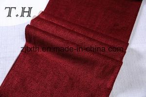 China Proveedor nuevo diseño Polyster Burnout el terciopelo tejido sofá