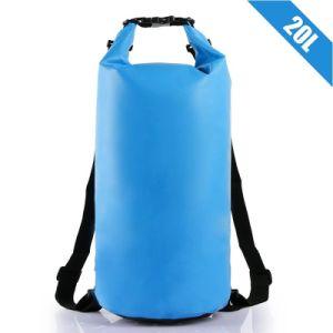 10L 20Lのカヤックを漕ぐ専門の防水乾燥した袋の袋のキャンプの船遊びカヌーをこぐ水泳袋をいかだで運ぶ