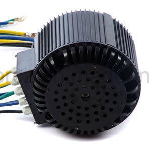 Motor dc sin escobillas para el coche eléctrico, eléctricos de la motocicleta, triciclo eléctrico, eléctricos carros de golf, Montacargas, Barco eléctrico