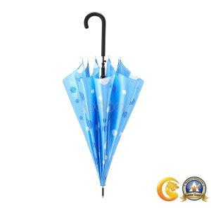 高品質自動卸し売りまっすぐなJのハンドルの傘