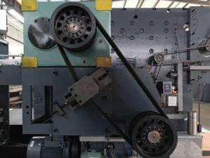 Автоматическая планшет умирают машины для резки системной платы из гофрированного картона с переднего ведущего транспортера