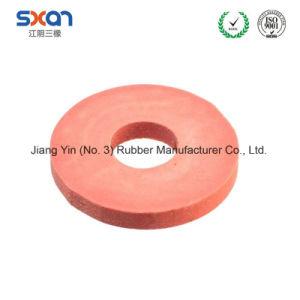 L'abitudine rende a silicone FKM piano rotondo guarnizione di gomma termoresistente