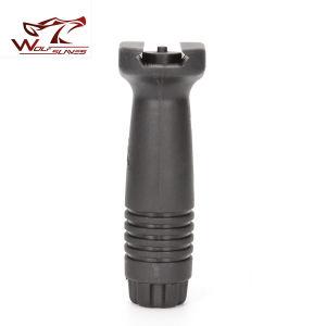 Engrenagem de filmagem Airsoft Exército americano estilo Kac Qd Foregrip Vertical Grip para M4/M16/Ar15 Maniglia aderência