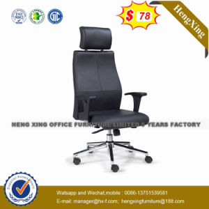 Konferenz-Büro-Möbel-Metalzelle-Kuh-Leder-Konferenz-Stuhl (HX-AC001C)