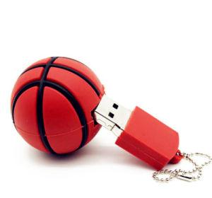 Привод вспышки USB баскетбола силикона привода пер USB 2.0