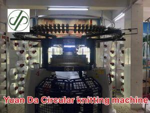 De aangepaste Machine van de Stof van Jersey van de Hoge snelheid Enige Textiel Cirkel Breiende