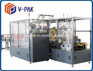 Hochgeschwindigkeitsfall-Verpacker-Maschine für Pharma und Madicine Paket