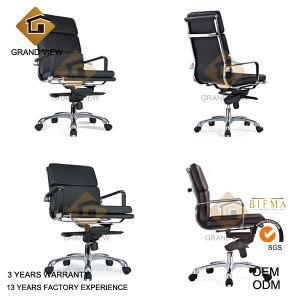 Cuir noir Chaise haute Boss de Back Office (GV-EA219-2)