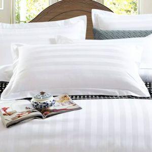 놓이는 최신 판매 면 100% 줄무늬 호텔 깃털 이불 덮개 침구 (JRD135)