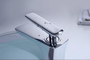 単一のレバーの真鍮の浴室の熱く冷たい洗面器のコック