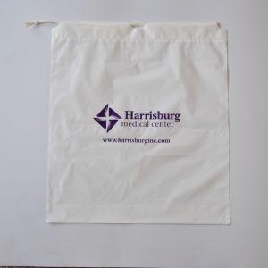 ドローストリングのポリ袋か防水ドローストリング袋の/Doubleの層のドローストリング袋