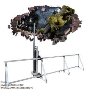 Machine van de Druk van het Overdrukplaatje van de Muur van de Foto van de nieuwe Technologie de Verticale
