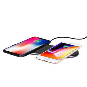 卸売価格のSumsungまたはアンドロイドのためのチーシステムが付いている情報処理機能をもった速い無線電話充電器の無線充満パッド