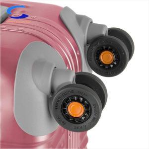 Rang 5 van 20  Reeksen van de Lucht van de Nieuwe Spoed Roze Vrouwen van China Al Koffer die van de Reis van Hardside van het Aluminium Duurzame de Rolling Bagage van de Spinner van het Slot van Tsa van het Karretje van de Legering al-Mg ineenschuiven