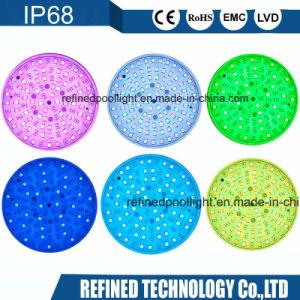 2  LEIDENE van de Kleur van de Kleur van de Basis het Licht van RGB Witte IP68 Pool van de Glasvezel