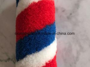 9  blau und roter Streifen-Acrylfaser-Lack-Rollen-Pinsel mit guter Qualität