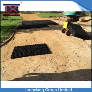 HDPE Net Manufacure van de Betonmolen van het Grint van het Gras het Plastic