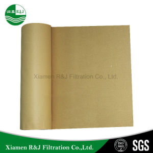 Nichtgewebter Needld gelochter Tuchfilter des Polymid-P84 für Filterstoff