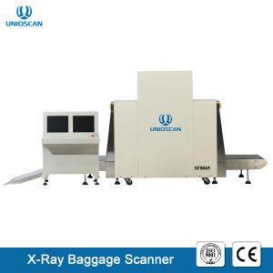 Raio X de tamanho grande Sala Scanner com a dupla energia utilizados em logística, a Estação...