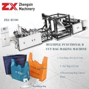 Sacchetto ambientale del taglio di W che fa macchina con i servizi dell'assistente tecnico (ZXL-B700)