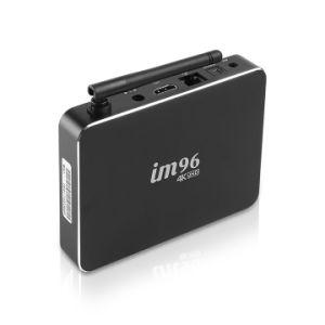 인조 인간 지능적인 IPTV 놓 상단 상자 With2GB+16GB 의 Kodi를 가진 Amlogic Rk3229 텔레비젼 상자