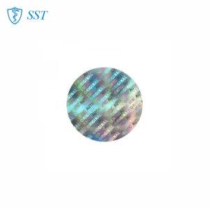 La impresión de etiqueta holográfica