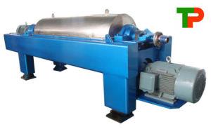 Hohe Leistungsfähigkeits-horizontales Dekantiergefäß-Zentrifuge-Gerät in der Papierherstellung