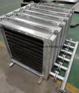 材木の乾燥炉のための螺線形のFinned管の空気熱交換器
