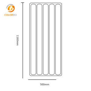 Feuerfester Polyester-Faser-Schallmauer-akustischer Schreibtisch-Bildschirm