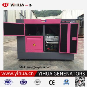 generatore diesel silenzioso eccellente di 16kw 20kVA Denyo con il motore 4dw91-291d di Fawde-Xichai