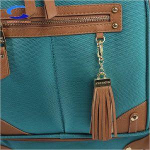Fábrica de China 28 Personalizado de color verde azulado azul importadas super resistente nylon bolsillos llevar maletas Trolley 4 ruedas todo el sentido de gran capacidad de rotación de la maleta de viaje