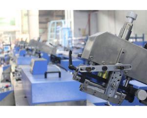 기계를 인쇄하는 5개의 색깔 배려 레이블 스크린