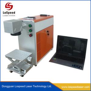 Laser die Machine voor Kleur merken die het Systeem van de Laser merken Mopa