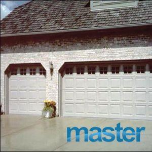 Вынесенному в разрезе управления верхней двери гаража с цепным приводом