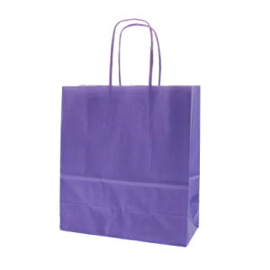 Vin ordinaire durables sac cadeau du papier de couleur rouge (YH-PGB004)