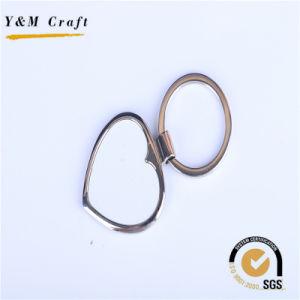 Barato preço de venda por grosso de metais em branco Personalizado Chaveiro Sublimação Key Ring