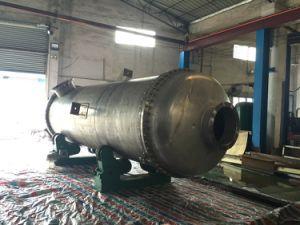 単純構造SUS304のシェルおよび管の熱交換器