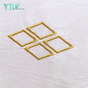 卸し売り4PCS贅沢な寝具は白く純粋なシーツのホテルの生きている寝具をセットする