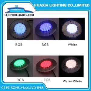 IP68 indicatore luminoso subacqueo sottile dell'indicatore luminoso LED della piscina della lampada dell'acquario dell'acciaio inossidabile 8mm RGB