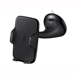 Qi стандарта Fast переносная беспроводная зарядное устройство для установки по мобильному телефону