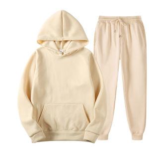 Senhoras e Menstracksuit definido para as mulheres encapuçados Jogging Suit o logotipo personalizado Sweatsuit unissexo definido