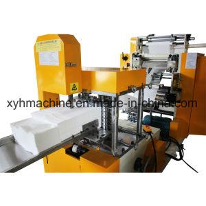 Colle automatique de stratification 1/8, 1/4-plié l'impression automatique des couleurs le gaufrage Serviette Serviette en papier-tissu avec grande vitesse de la machine