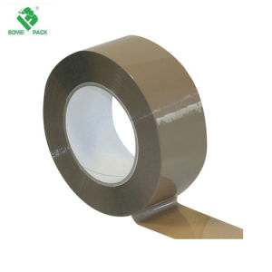 薄茶の熱い溶解のパッキングテープ